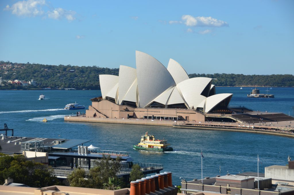 8 days and 8 iconic viewpoints in Sydney